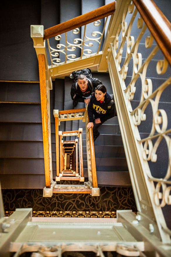 Hotel Newton Stairwell