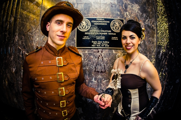 Steampunk Wedding