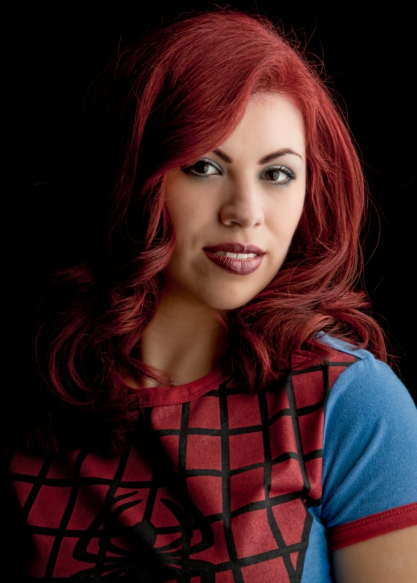 Red Hair - Spidergirl Portrait